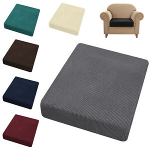 Jacquard Stretchy Sofa Seat Cushion Cover Couch Slipcover Protector Replacement