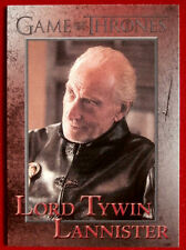 GAME OF THRONES - LORD TYWIN LANNISTER - Season 3, Card #64 - Rittenhouse 2014