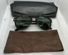 Persol black frame sunglasses 649 95/31 49 20 135