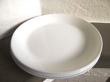 IKEA VARDAGEN Tiefer Teller in elfenbeinweiß; aus Steinzeug; Speiseteller 23cm