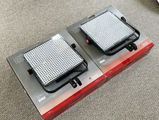 Manfrotto Spectra 1x1 LED Light Panels- 2 LIGHT KIT-EXCELLENT CONDITION!