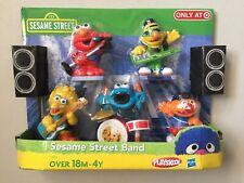 Sesame Street Band Target Exclusive Figures Elmo Bert Bird Cookie Monster Ernie