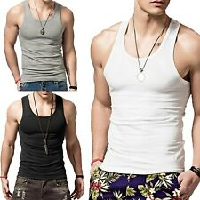 3 6 Packs Mens 100% Cotton Tank Top A-Shirt Wife Beater Undershirt Ribbed Lot