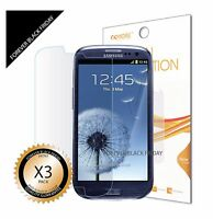 3x Anti-Scratch Screen Protector For Samsung Galaxy SIII S3 i9300/T999/i535/L710