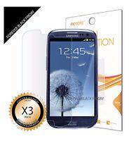 3x Anti-Scratch Screen Protector For Samsung Galaxy SIII S3 i9300/T999/i535/L710