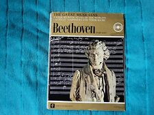 """The Great Musicians No. 1 - Beethoven (Part One)  10"""" LP Fabbri & Partners"""