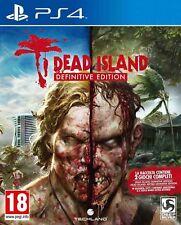 DEAD ISLAND DEFINITIVE EDITION COLLECTION 2 GIOCHI PS4 NUOVO SIGILLATO ITALIANO