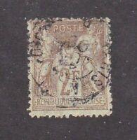France stamp #108, used, 1898 - 1900, SCV $40.00