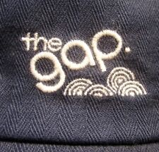 THE GAP med sun-visor hat 1980s logo reverse stitching throwback cap