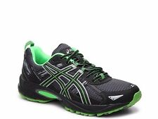 ASICS Gel Venture 5 4E Black & Bright Green SZ 8