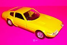 Verem Yellow Ferrari 365 GTB4 1:43 Die Cast Model Display Car RARE VERSION MINTY