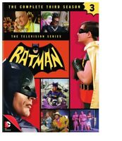 Batman: The 1966 Television Series: The Complete Third Season (Season 3) DVD NEW