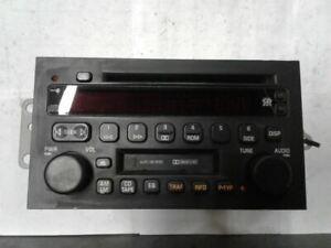 Radio Receiver CD Player 2002 2003 02-03 BUICK RENDEZVOUS 9359504