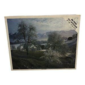 "Vintage Whitman 600 Piece Jigsaw Puzzle Bright Winter 4648 16""x20"" Sealed"