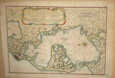 Cartagena Colombia Ulloa 1752 Map
