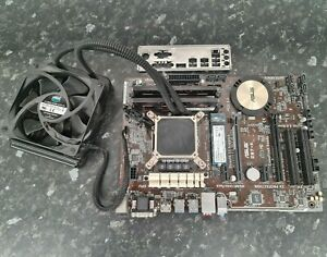 I7 4770 @ 3.40GHz Asus Z97-K 8GB DDR3 256GB M.2 SSD WIFI Water Cooled EB1910