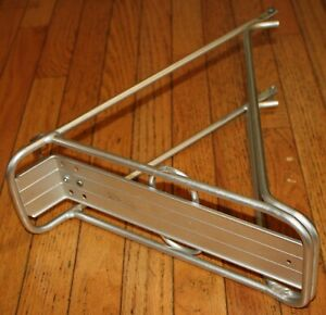 ADVENT Bicycle Rear Cargo Touring Pannier RACK Hollow Aluminum Tubing VINTAGE