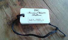 Usado - IWC - Etiqueta sello  - Item For Collectors