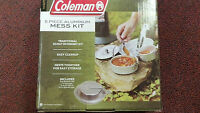 Coleman, MESS KIT, 5 PIECE ALUMINUM, SCOUT KIT, EASY CLEANUP, EASY STORAGE
