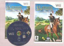ALEXANDRA LEDERMANN LE HARAS DE LA VALLEE : Superbe sur Wii.