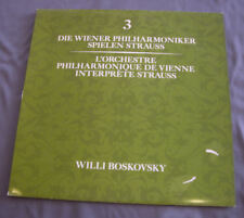 "Vinilo LP 12"" 33 rpm L'ORCHESTRE PHILHARMONIQUE DE VIENNE INTERPRETE STRAUSS"