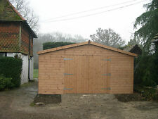 24 x 15 WOODEN GARAGE/ SHED/WORKSHOP/  HEAVY DUTY TIMBER