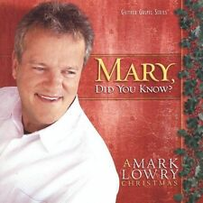 MARY, DID YOU KNOW? CD BY MARK LOWRY BRAND NEW SEALED