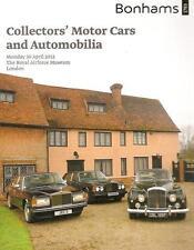 Bonhams Collectors' Motor Cars & Automobilia London Royal Airforce Museum 2012