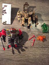 Halo Cyclops & Halo Figures Mega Blocks Lot, Missing A Mini Figure