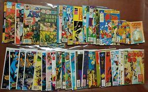 Lot of 40+ VTG Comics (Upshot,Dark Horse, Impact, Modern, Charlton, Eclipse etc)