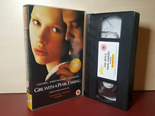 Girl With A Pearl Earring - Colin Firth -  PAL VHS Video Tape (H105)