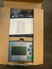 Siemens 6ED1055-4MH00-0BA0 TD LOGO! TD Text Display New