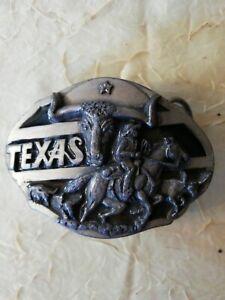 Belt Buckle Texas 1990 USA