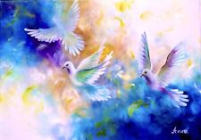 Dove Painting