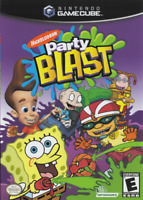 Nickelodeon Party Blast Ngc For GameCube 7E