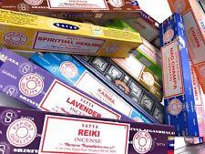 Genuine SATYA SAI BABA NAG CHAMPA VARIETY MIX 12 X 15 Gm BOXES OF INCENSE STICKS