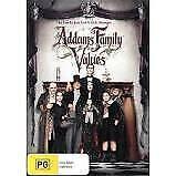 ADDAMS FAMILY VALUES DVD - NEW & SEALED CHRISTINA RICCI FREE POST