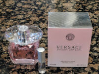 Versace - Bright Crystal EDT - 5ml / 0.17oz Sample in Refillable Atomizer