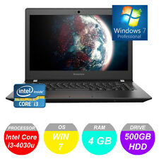 "Lenovo IdeaPad E31 13"" Laptop Intel Core i3 4 GB Ram 500 GB HDD Win 7 con garanzia"