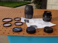 2 QUANTARAY CAMERA LENSES NIKON NF AF 70-210mm + 35-70mn + FILTERS EXC COND