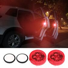 4x Flashing LED Car Warning Lamp Auto Strobe Traffic Anti Collision Door Light