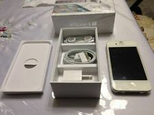 NEW White iPhone 4S 32GB Unlocked + 1-Year Warranty TMobile Straight Talk