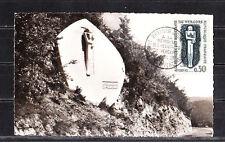 carte   1er jour  a la méémoire des résistants du Vercors      1962