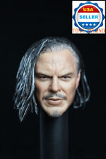 "1/6 Whiplash Head Sculpt Iron Man 2 For 12"" Hot Toys Phicen Male Figure ❶USA❶"