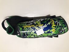 Mitre Aero Speed Soccer Shin Guards aerospeed youth 4 ft- 4 ft 8 in green