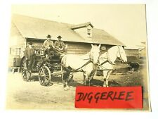More details for 1904 chemical engine nome fire department nowell sepia photograph 10x8