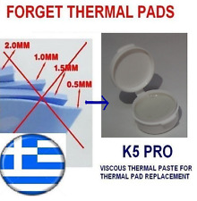 !!! K5-PRO !!! gummy sticky thermal paste grease for thermal pad replacement 20g