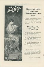1903 Schlitz Beer Ad Increase in Demand What Made Milwaukee Famous