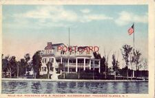 BELLE ISLE, RESIDENCE OF A.. R. PEACOCK, ALEXANDRIA BAY, THOUSAND ISLANDS, N. Y.
