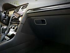 Volkswagen VW Golf AU GTI R Alu Zierleiste Handschuhfach Dekor Zierrahmen